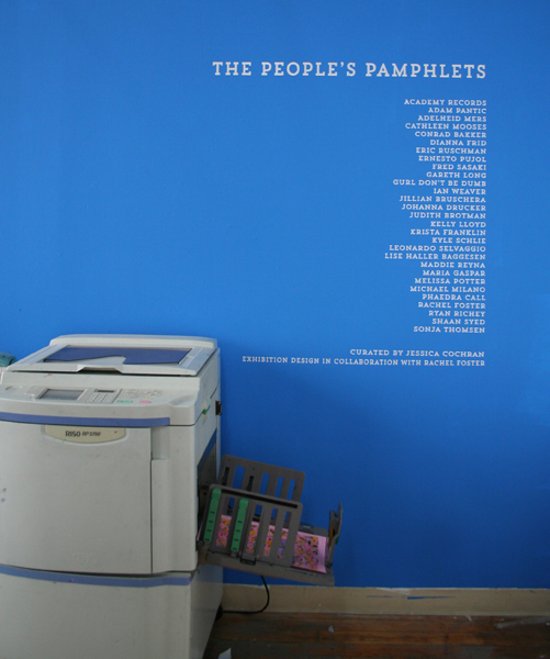 Peoples Pamphlets Exhibition 02